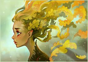 Oak's Melancholy by Radittz