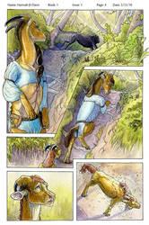 Tala'Nynn: Fire Fall: PG 4 Color by Ahkahna