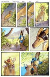 Tala'Nynn: Fire Fall: PG 5 Color by Ahkahna