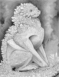 Little Book of Dragons: Creedite Dragon by Ahkahna