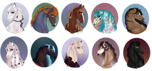 YCH Headshot Sale | CLOSED by Ciinders