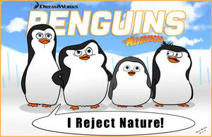 Penguins of Madagascar by momarkey