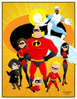 The Incredibles 2 by momarkey