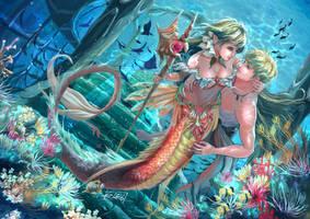 Under the sea 2 by AuroraF