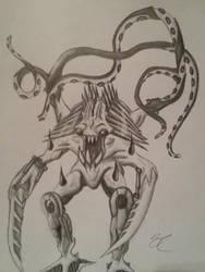 NOCTURN drawing by /u/Samuntrus by r-BionicleLego