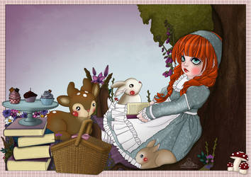 Anne of Green Gables by Bakarti