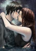The Kiss by DeanOyebo