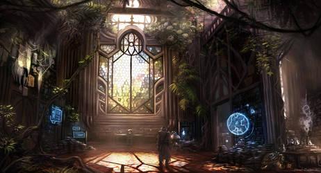 Red's Sanctuary by DeanOyebo