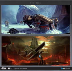 ILM Art Challenge - Semi Finals - The Ride by DeanOyebo