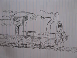 Ghost train by TheguyfromNorramby