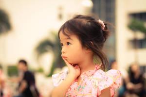 lovely baby by nathnim