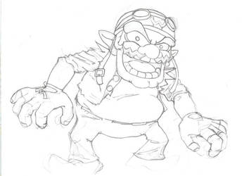Wario by invader-quirk