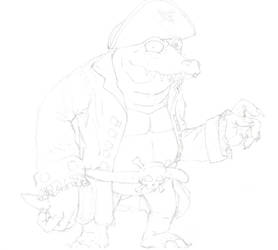 Kaptain K Rool by invader-quirk