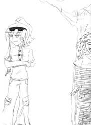 , Ryoko and Yoki - Fanart , by MeganAoyama