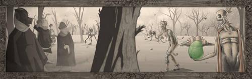 Xerb War by gillespie-art