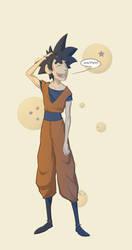 Goku by gillespie-art