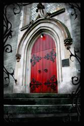 Red Door by LadyTempusMori