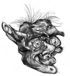 Goblin Face by PtarmiganMan