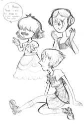 Gem Sketches by PtarmiganMan