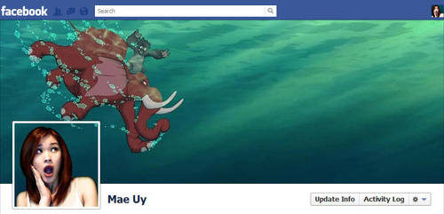 Facebook Timeline Cover - Terk and Tantor by blastedgoose