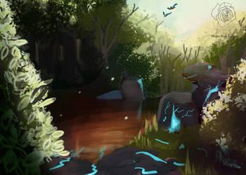 Fantasy Lanscape by MeganRoseThomas
