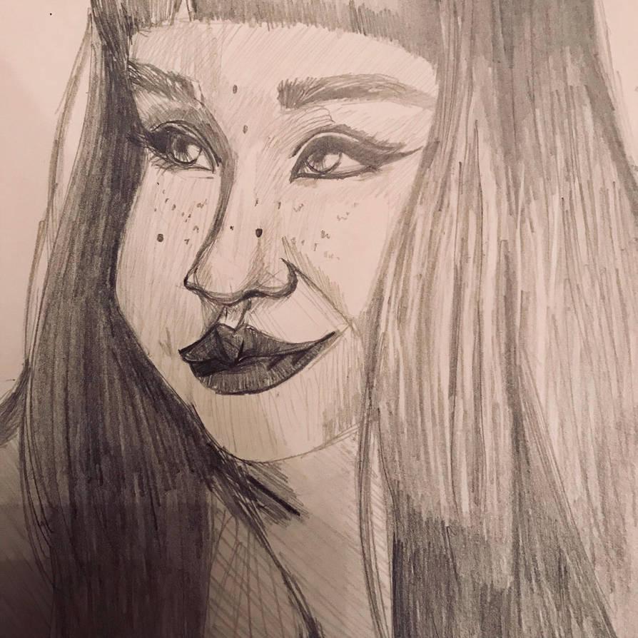 Quick Sketch by MeganRoseThomas