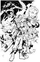 Nephilim inks by bobbett
