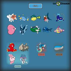 Fish Pokemon by Saiph-Charon