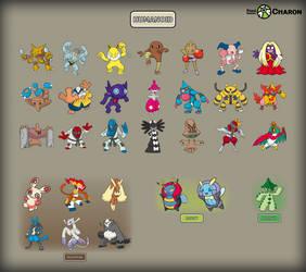 Humanoid Pokemon by Saiph-Charon