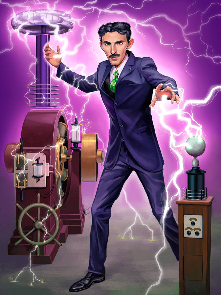 Nikola Tesla by GeorgeD