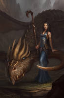 Dimwater's Dragon by BobKehl