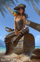 Kidds treasure by BobKehl