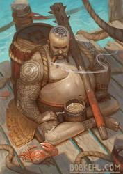 Defender of the Rums by BobKehl