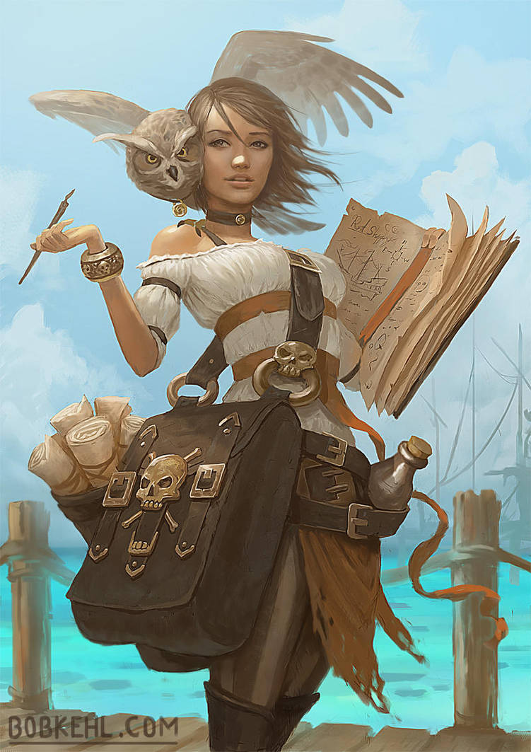 The Pirate Chronicler by BobKehl