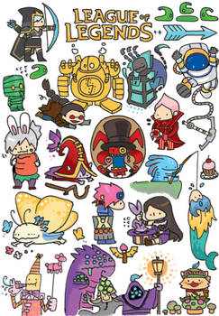 LOL - Sticker by Sim-Song