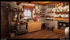 Tavern Kitchen by f4f