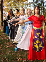 Zeldas by lunaladyoflight