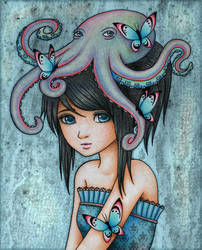Dear Octopus by ArtfulJessica