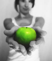 green apple by michelpell