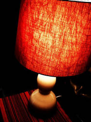 red shade. by wisewoman507