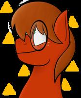 Pony Portrait - Geeky Steven by CosmicChrissy