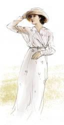 Sybil Crawley by polkapills