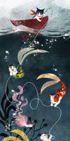 Purrmaids (Catfishing) by polkapills