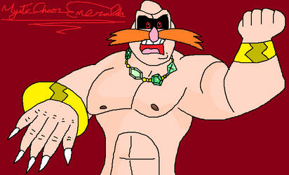 I draw Supreme High Robotnik from AoSTH by MysticChaosEmeralds