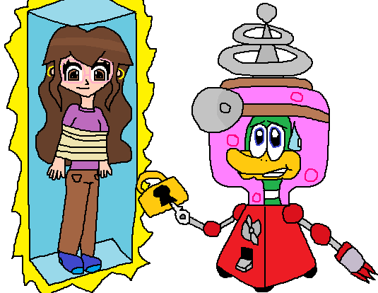 Dr. Quack saves me from Robotnik by MysticChaosEmeralds