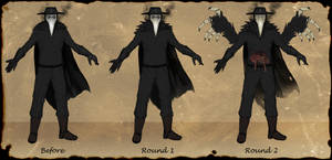 Plague Doctor Forms Reference by Snook-8