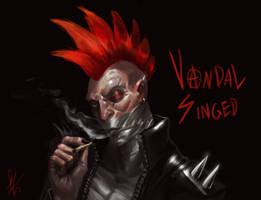 Vandal Singed- Skin Idea- Sketch [LoL] by Snook-8
