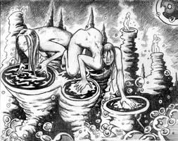 Sirens of Ragznarok by ragzdandelion