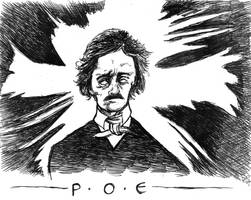 Poe by ragzdandelion