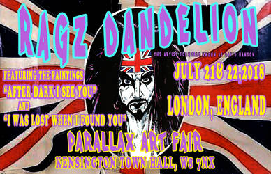 British Flag Ragz Tour Poster by ragzdandelion